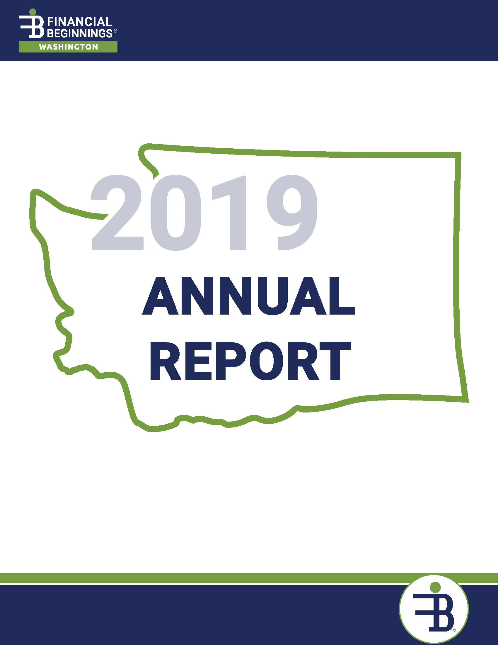 2018 - 2019 Financial Beginnings Washington Annual Report
